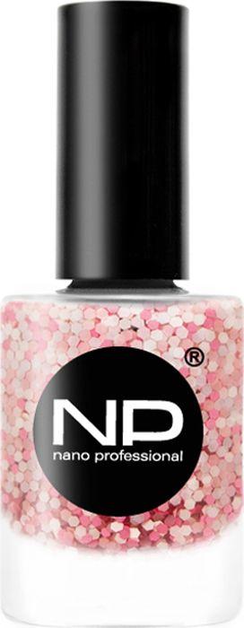 Nano Professional Лак для ногтей, P-1210 замочки любви, 15 мл002135Этот лак-эффект на прозрачной основе создан специально для создания оригинальных эффектов на лаках темных оттенков. Покрытие содержит мелкие разноцветные многоугольники: розовые, бледно-сиреневые, перламутровые, нежно-розовые, которые великолепно украсят ногти и дополнят яркий летний образ. Этот лак можно использовать, как топ покрытие для создания френч-маникюра.Как ухаживать за ногтями: советы эксперта. Статья OZON Гид