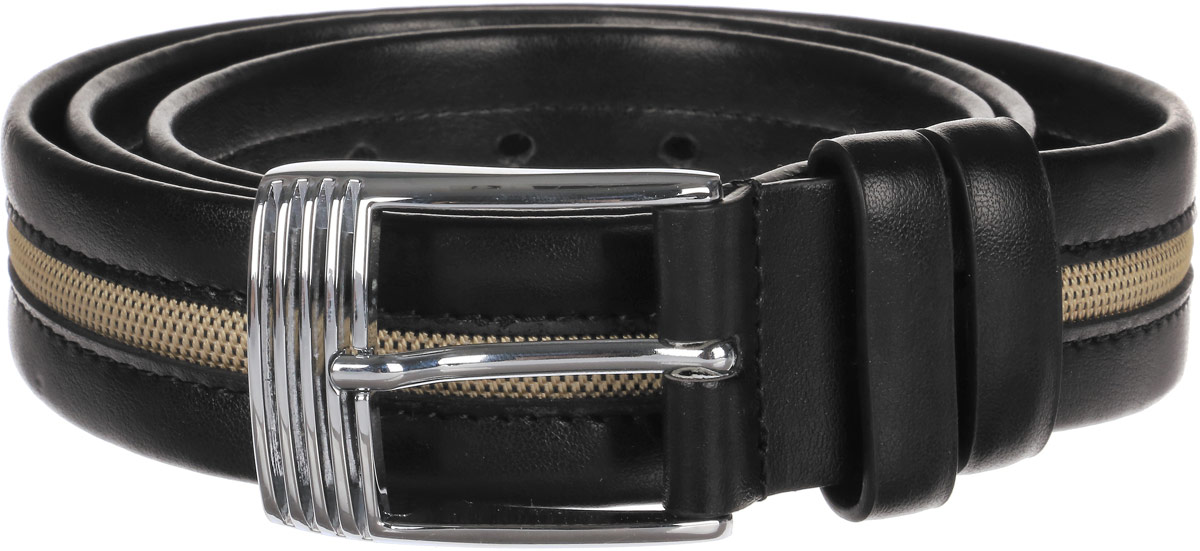 Ремень мужской Paolo Veronese, цвет: черный. PV-NK001-PM0013. Размер 115