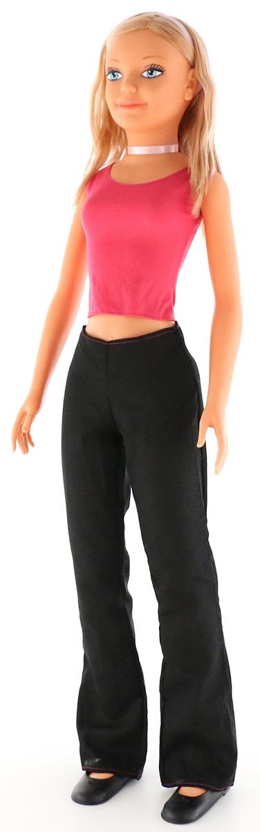 Falca Кукла Дженни Звезда цвет одежды ярко-розовый черный кукла yako m6579 6