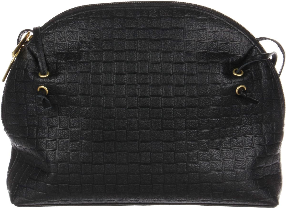 Конверт для путешествий женский Paolo Veronese Square Black, цвет: черный. M162-A04-20M162-A04-20Сумка женская средняя на молнии. С регулируемым ремешком через плечо .Из натуральной кожи с тиснением Paolo Veronese. Внутри 1 открытый и закрытый карман на молнии. Размеры (XxYxZ): 220х180х50