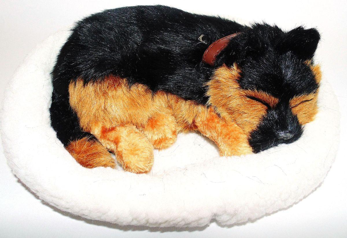 Vebtoу Интерактивная игрушка Немецкая овчарка на коврике с имитацией дыхания немецкая овчарка щенок тюмень