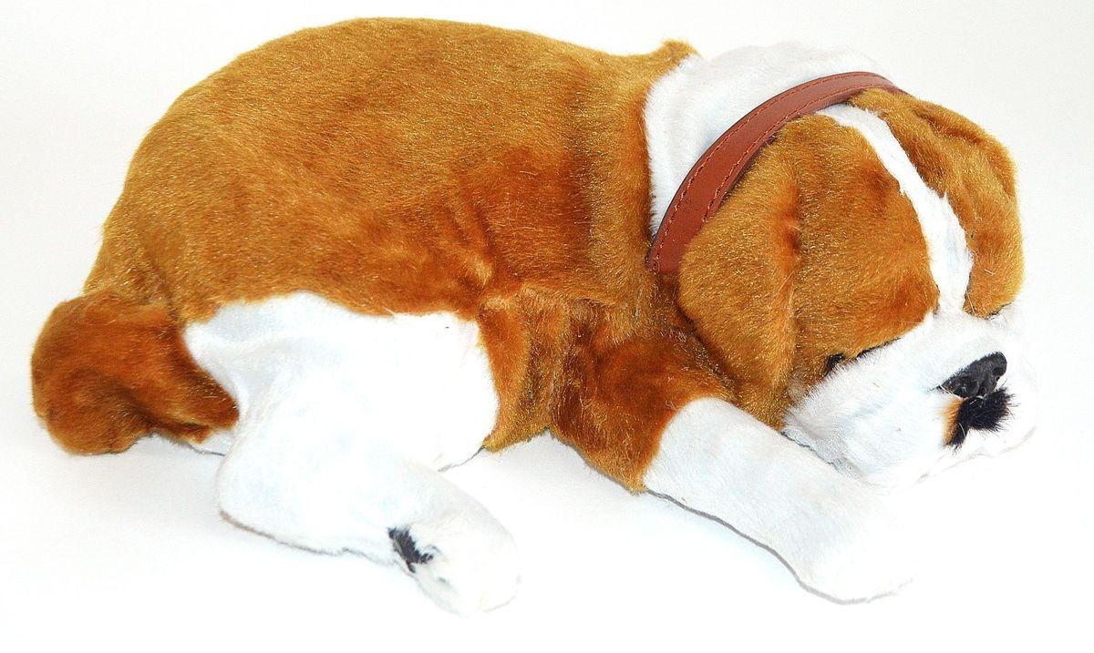 Vebtoу Интерактивная игрушка Бульдог на коврике с имитацией дыхания - Интерактивные игрушки