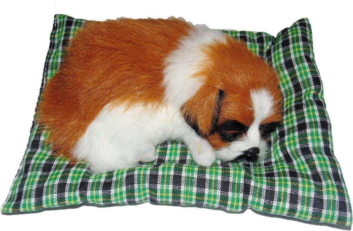 Vebtoy Фигурка Сенбернар на коврике цвет коричневый D643