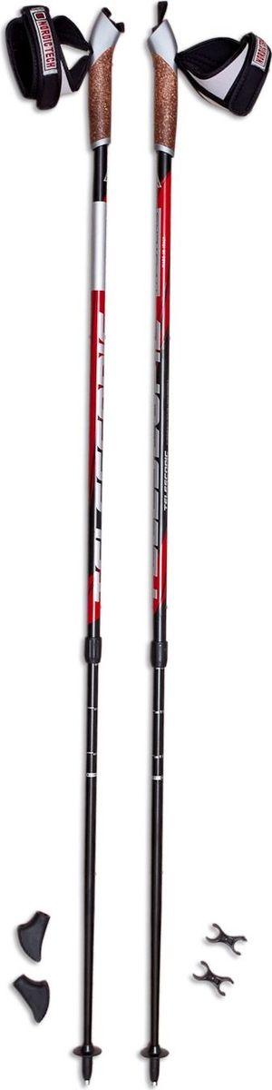 Палки для скандинавской ходьбы Masters  Telescopic , цвет: черный, 77-135 см - Скандинавская ходьба