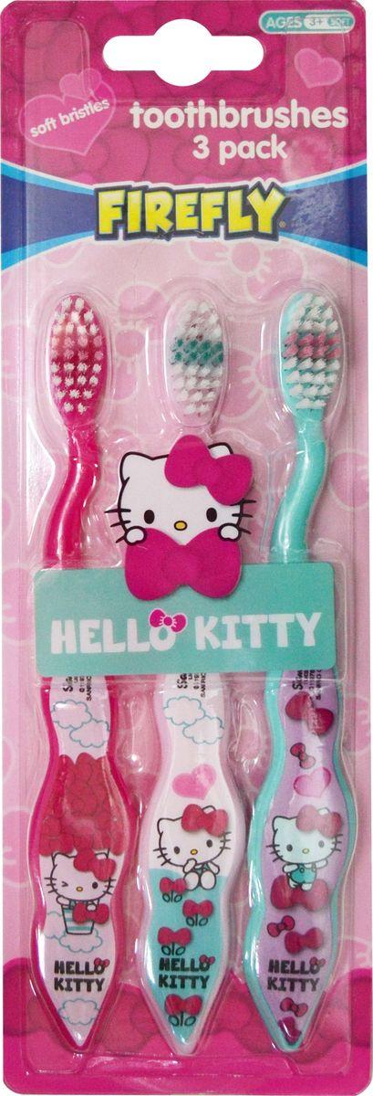 Hello Kitty Зубная щетка с резиновой вставкой 3 штHK-17Набор детских мануальных зубных щеток из 3 штук с резиновой вставкой Hello Kitty станет прекрасным подарком ребенку. С такими прекраснымищетками чистка зубов станет в радость. Щетина мягкая и комбинированная. Не рекомендуется использовать детям до 3-х лет. Набор детскихмануальных зубных щеток из 3 штук с резиновой вставкой Hello Kitty яркого цвета и необычного дизайна.