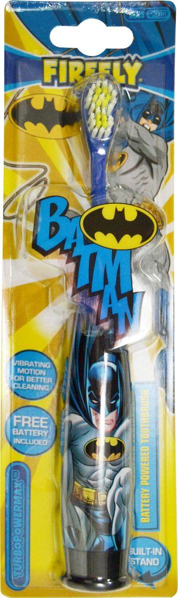 Batman Детская зубная щетка с батарейкойBM-6,5Batman Детская зубная щетка с батарейкой, встроенной в ручку, устойчивая. Мягкая щетина. 6+.