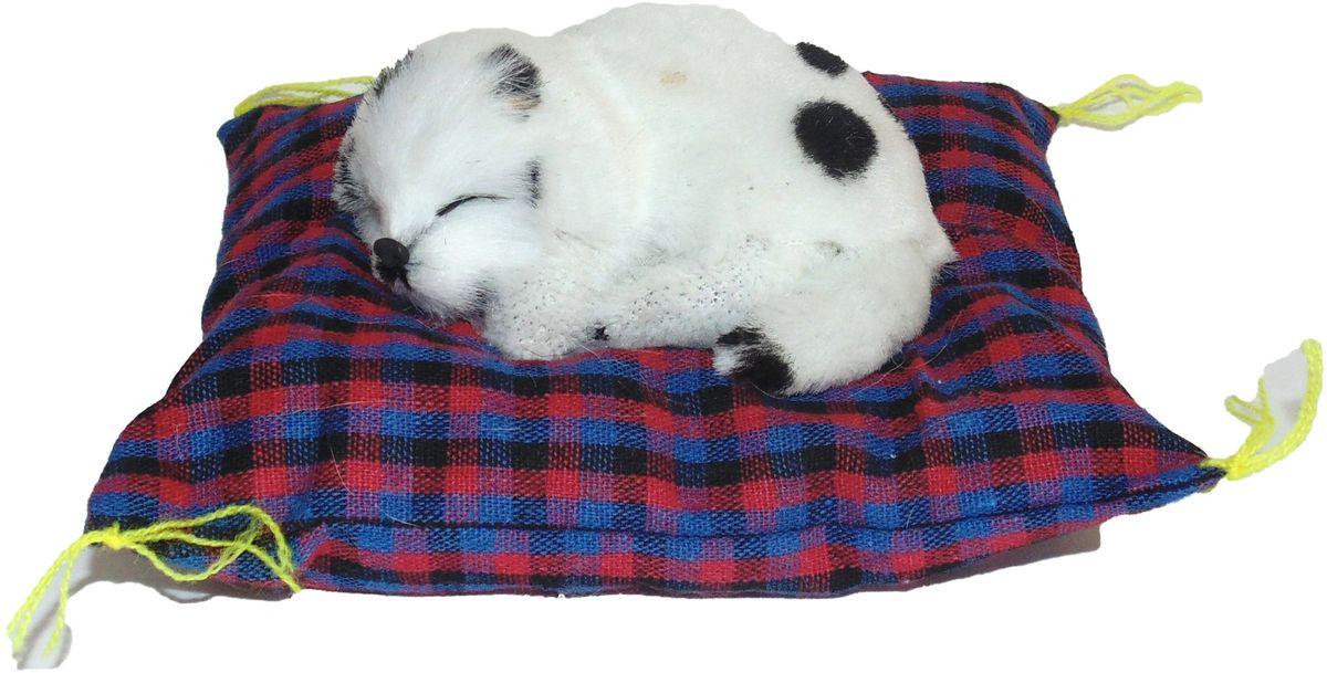 Vebtoy Фигурка Долматинец на коврике со звуком Гав цвет белый vebtoy фигурка котенок сидящий цвет белый c226