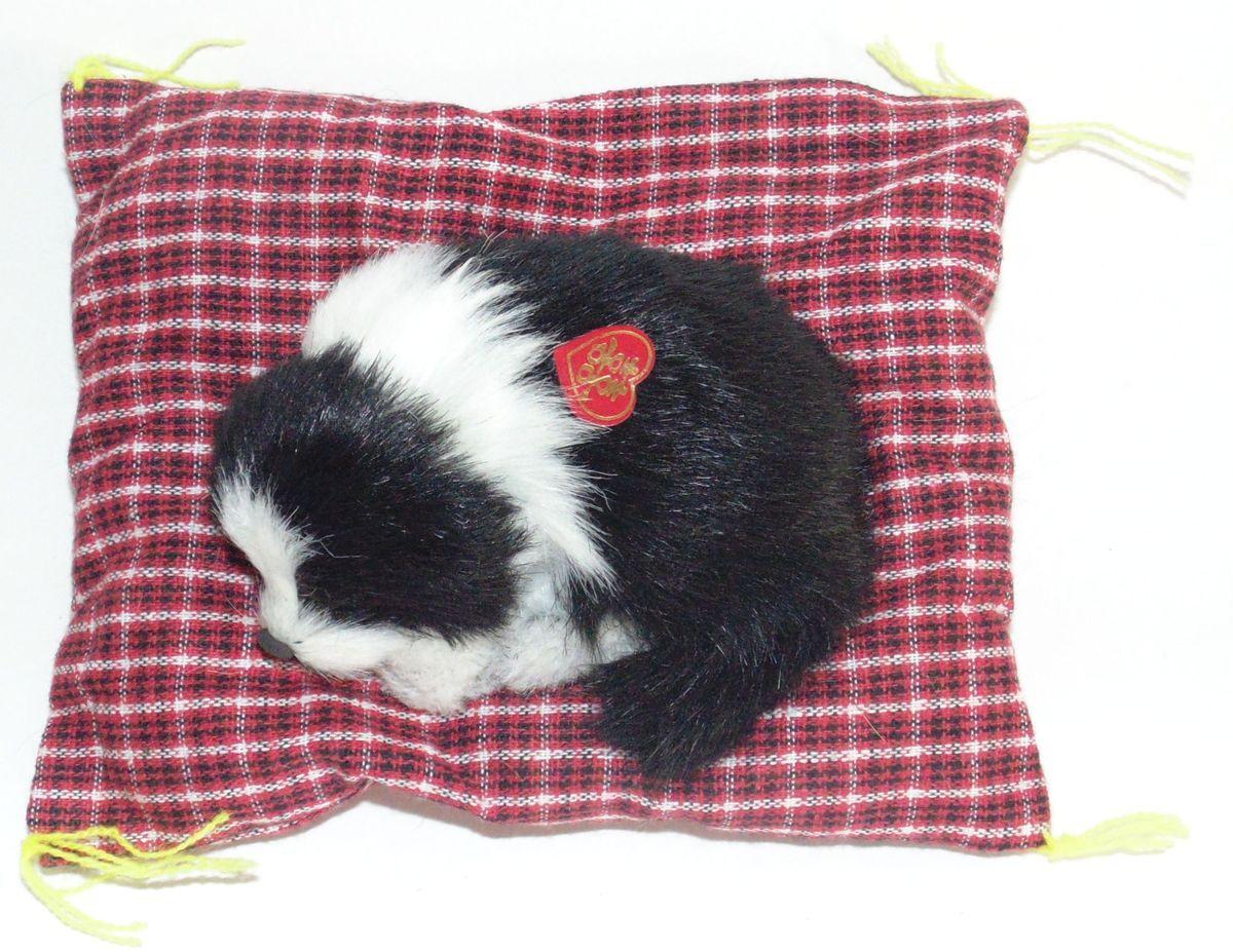 VebtoyФигурка Норвежская колли на коврике со звуком Гав цвет черный D523