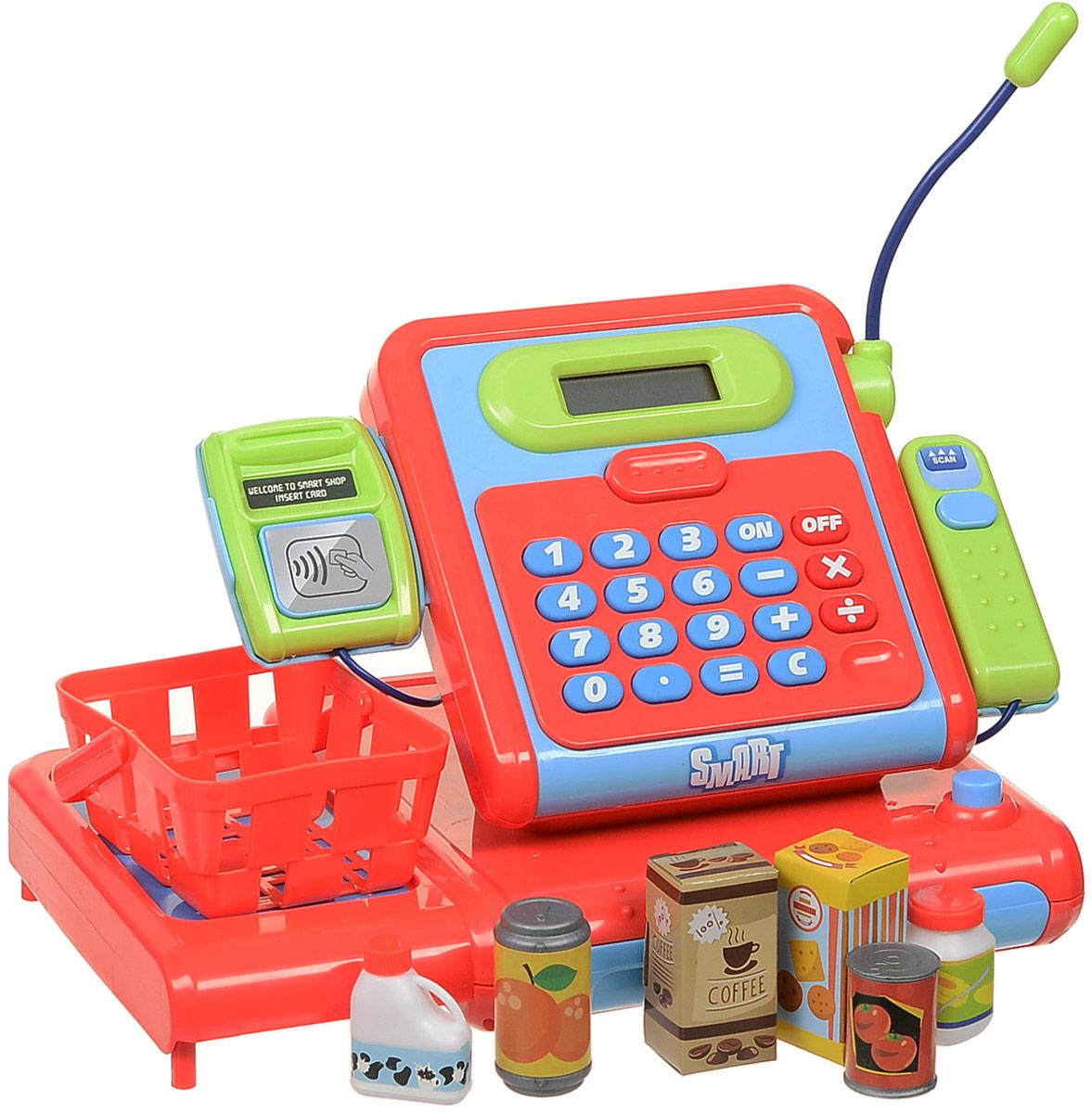 HTI Игровой набор Касса супермаркета Smart ролевые игры hti кассовый аппарат smart