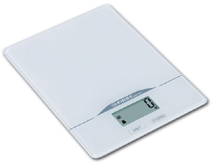 First FA-6400-2-WI, White кухонные весыFA-6400-2-WIКухонные весы First FA-6400-2 - это отличный помощник на вашей кухне. Функция компенсации тары позволит взвешивать не учитывая массу тары, а высокая точность даст возможность точно следовать вашим любимым рецептам. Имеется индикатор перегрузки. С помощью данной модели также можно измерять объем жидкости.