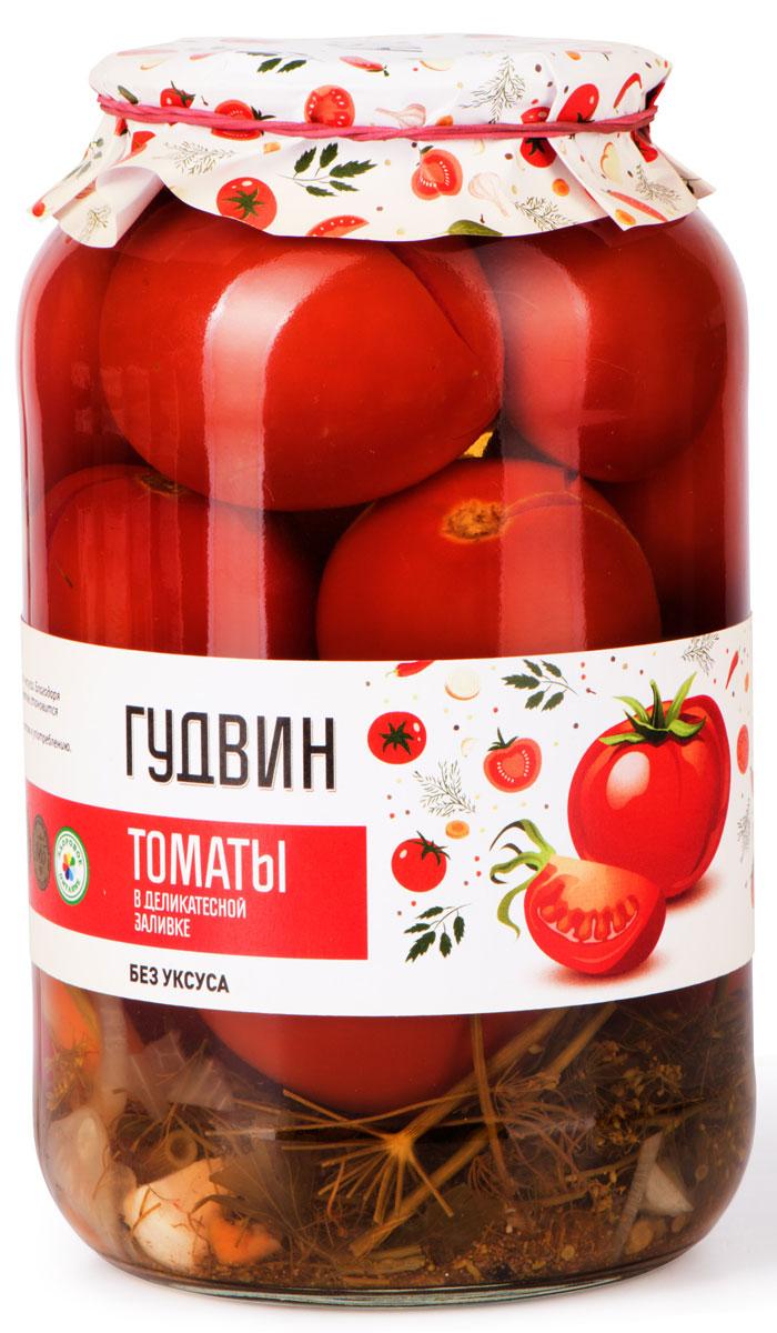 Гудвин томаты в деликатесной заливке, 1,5 кг4627098460262