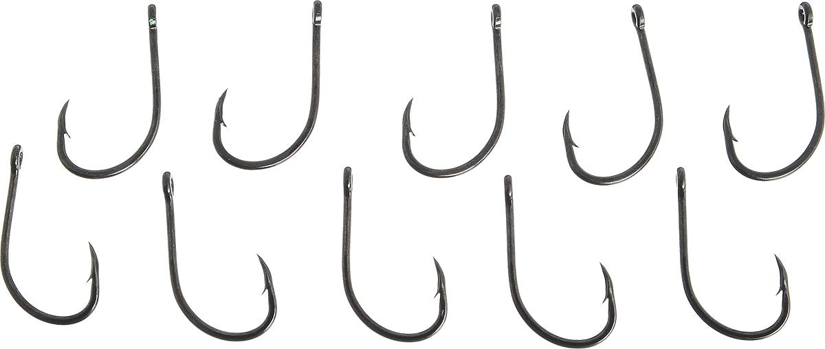 Крючки рыболовные VMC №4, 10 шт. 7111BN крючки vmc 7112 bn 10шт карповый 2