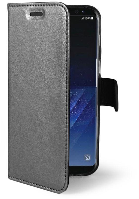 Celly Air Case чехол для Samsung Galaxy S8+, SilverAIR691SVЧехол-книжка Celly Air Case для Samsung Galaxy S8+ выполнен из высококачественных материалов и практически не увеличивает размер устройства. А благодаря его удобной конструкции все функциональные кнопки и разъемы остаются свободными. Чехол надежно защитит ваш аппарат от царапин и сколов, механических повреждений, а также позволит хранить кредитные карты или визитки в специально отведенном кармашке. Крышка может использоваться как подставка под устройство для удобного просмотра видео.