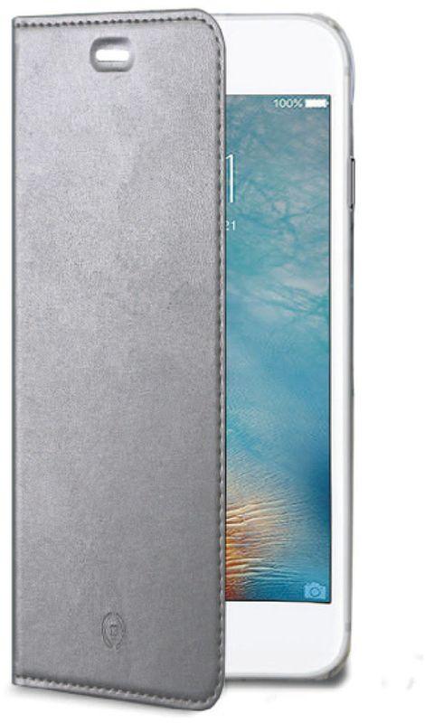 Celly Air Case чехол для Apple iPhone 7/8, SilverAIR800SVЧехол-книжка Celly Air Case для Apple iPhone 7 выполнен из высококачественных материалов и практически не увеличивает размер устройства. А благодаря его удобной конструкции все функциональные кнопки и разъемы остаются свободными. Чехол надежно защитит ваш аппарат от царапин и сколов, механических повреждений, а также позволит хранить кредитные карты или визитки в специально отведенном кармашке. Крышка может использоваться как подставка под устройство для удобного просмотра видео.