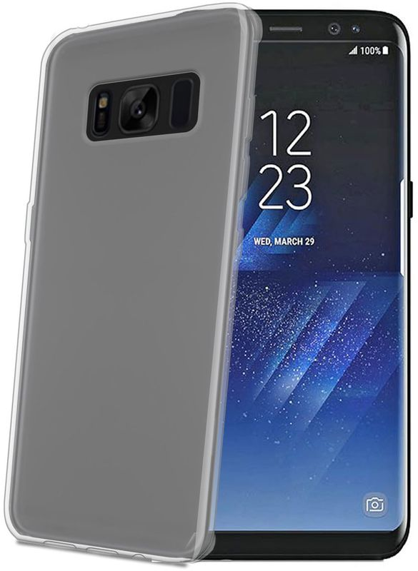 Celly Gelskin чехол для Samsung Galaxy S8+ чехол для samsung galaxy j1 2016 sm j120f ds celly gelskin прозрачный