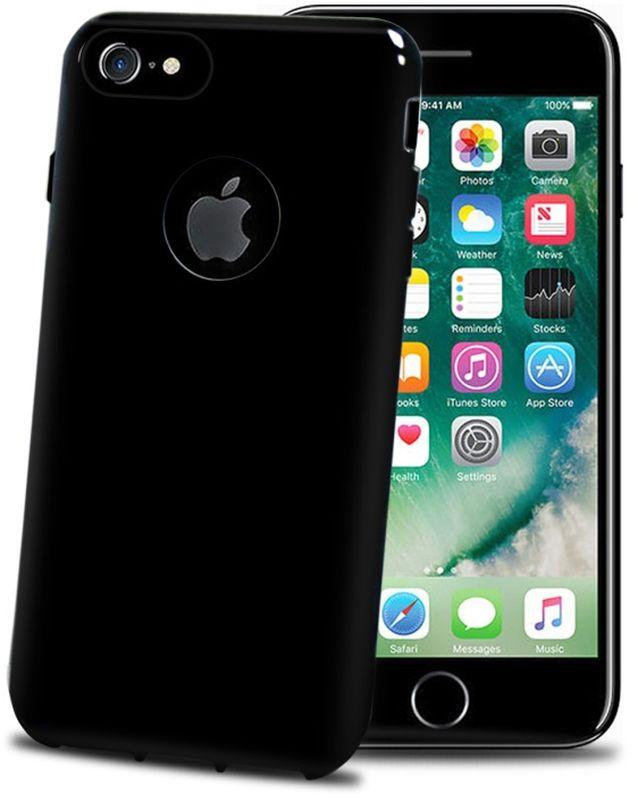 Celly Gelskin чехол для Apple iPhone 7/8, Black EditionGELSKIN800BEЭластичный чехол-накладка Celly Gelskin для Apple iPhone 7/8 выполнен из противоударного термопластичного полиуретана. Идеальное эргономичное решение для защиты вашего смартфона. Благодаря своей толщине он практически не увеличивает размер вашего телефона.