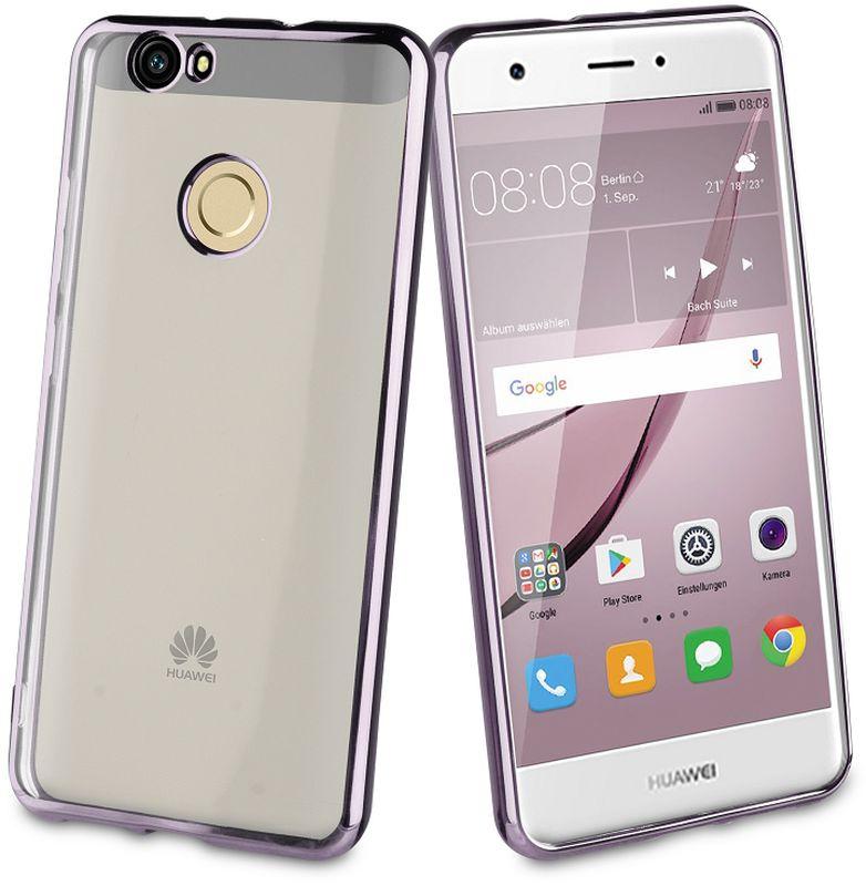 Muvit Bling Case чехол для Huawei Nova, GrayMLBKC0186Прозрачный с цветным краем чехол-накладка выполнен из противоударного термопластичного полиуретана. Идеальное эргономичное решение для защиты вашего смартфона.