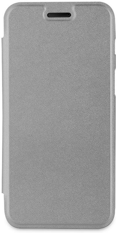 Muvit Bling Folio Case чехол для Samsung Galaxy A3 (2017), GrayMLFLC0013Чехол-книжка Muvit Bling Folio надежно защитит ваш смартфон от ударов, царапин, падений и загрязнения, оставляя при этом все разъемы и элементы управления в открытом доступе. Чехол выполнен из высококачественной искусственной кожи, поэтому он прослужит в течение длительного времени, сохраняя презентабельный внешний вид.