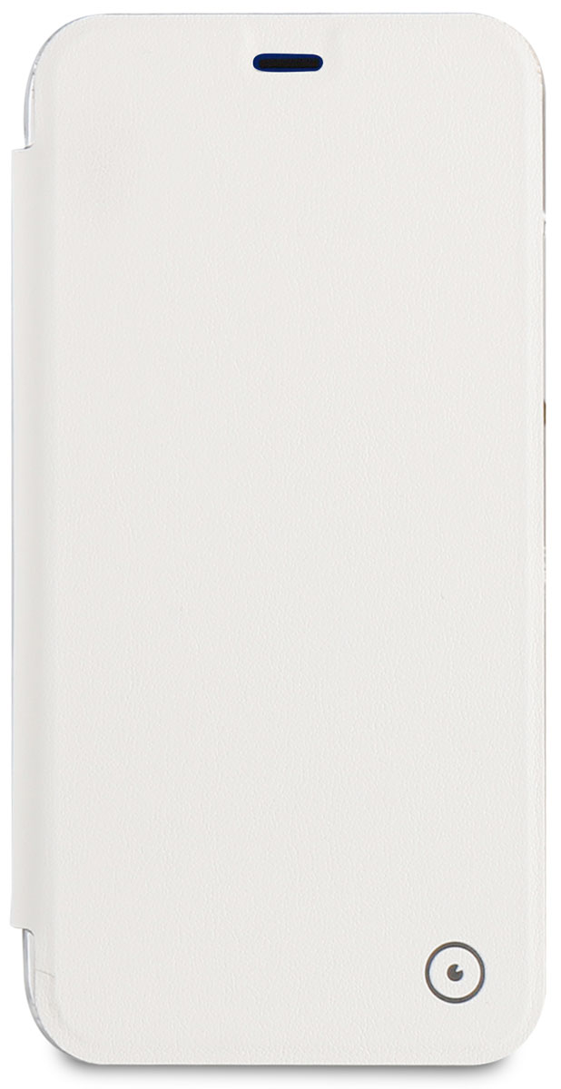 где купить Muvit Muvit Folio Case чехол для Apple iPhone X, White дешево