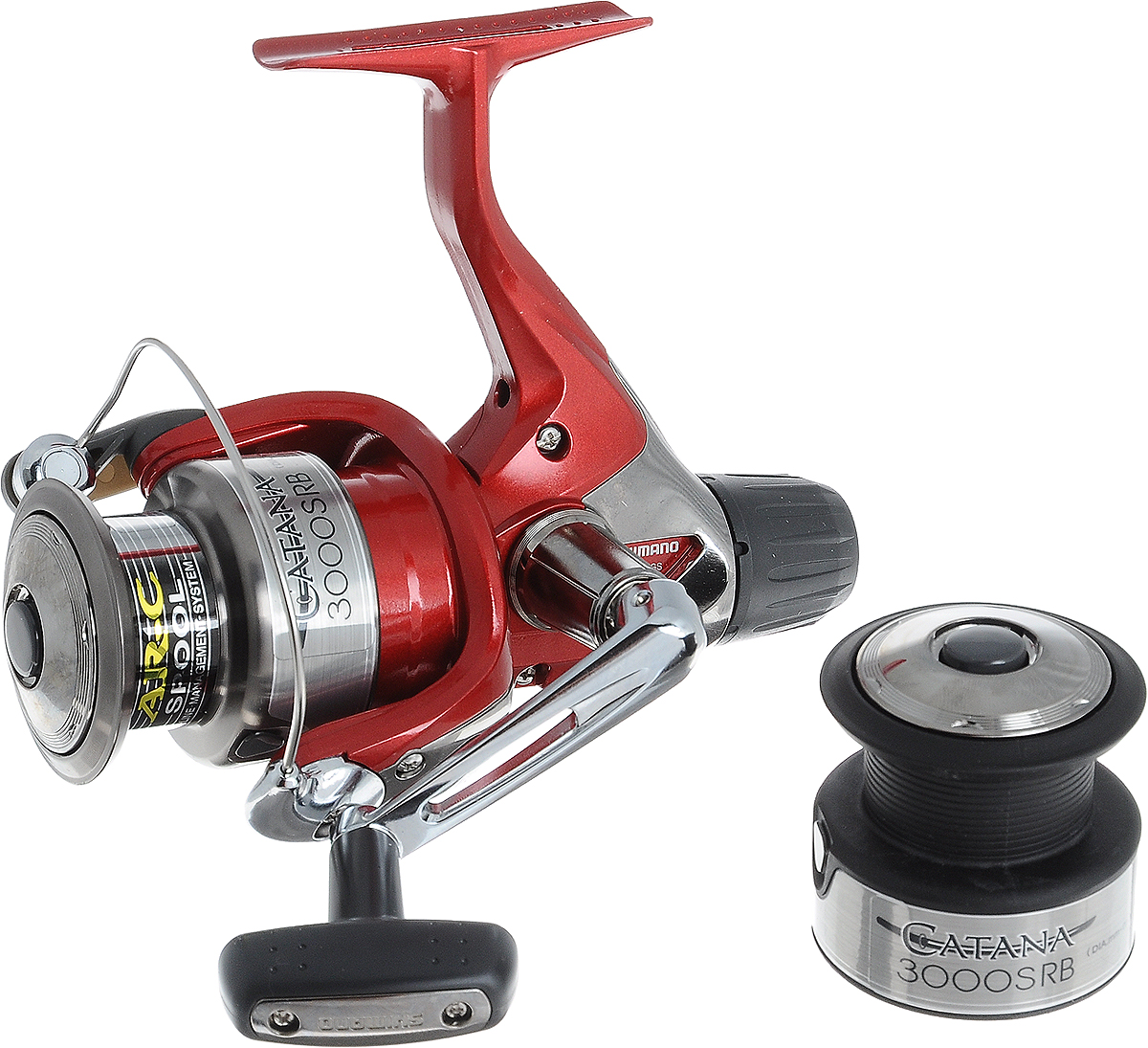 Катушка рыболовная Shimano Catana. CAT3000SRB тумба мебелайн 5