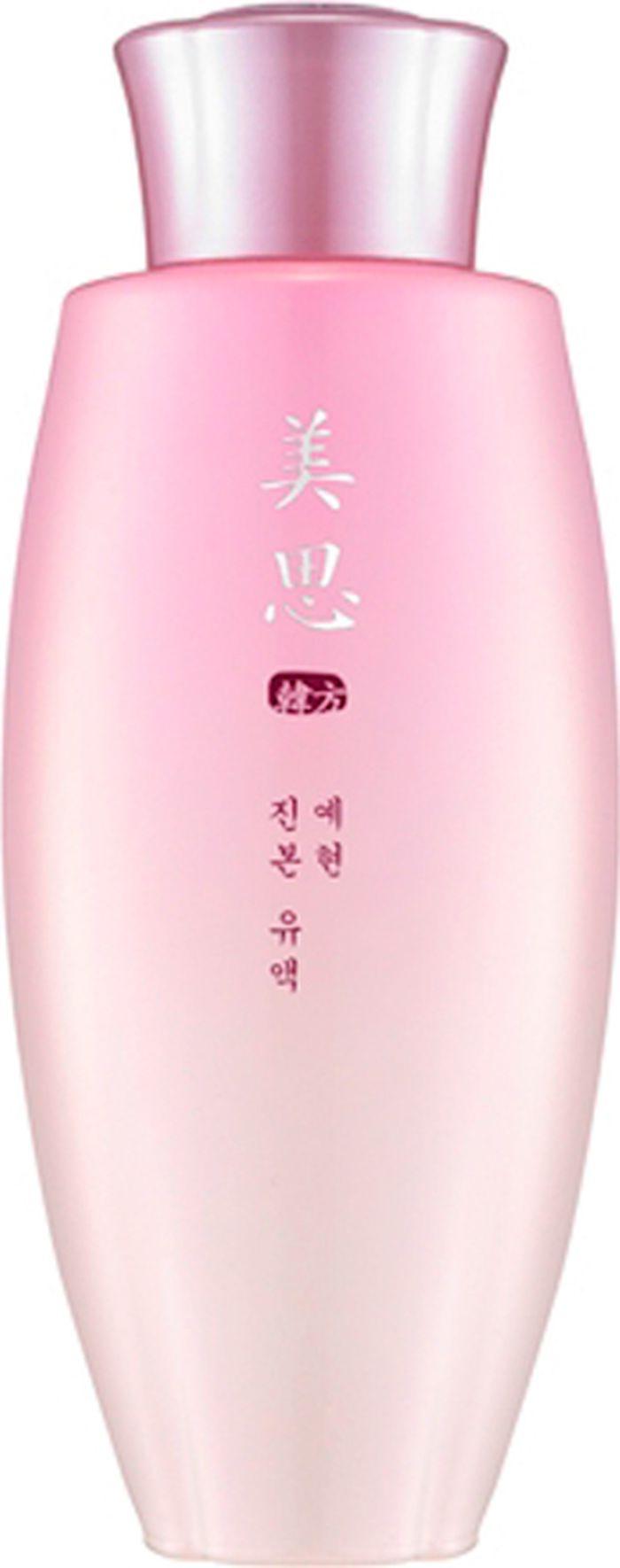 Missha Yei Hyun Emulsion Омолаживающий питательная эмульсия для лица, 140 мл8806185754897Эмульсия для лица Yei Hyun Emulsion от корейского бренда Missha обеспечивает омоложение, питание и увлажнение кожи Средство имеет освежающую легкую текстуру, повышает эластичность и гладкость кожи, выравнивает ее цвет и рельеф, придает свежести и жизненной силы Эмульсия способствует улучшению кровообращения и ускорению процессов регенерации, повышает защитные свойства эпидермисаЭкстракт женьшеня обладает омолаживающими и тонизирующими свойствами, разглаживает морщины, способствует выработке коллагена Экстракт сосны Тунберга питает кожу, делает ее более упругой, улучшает микроциркуляцию крови Экстракт рехмании оказывает увлажняющее и омолаживающее воздействия