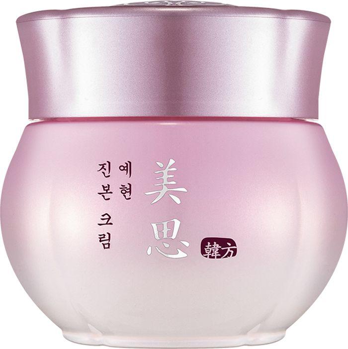 Missha Yei Hyun Cream Омолаживающий питательный крем для лица, 50 мл8806185754910Целебные вытяжки из восточных растений веками использовались красавицами для омоложения и питания кожи И на сегодняшний день эти уникальные рецепты не утеряны, и воспользоваться косметическими ухаживающими средствами, приготовленными на их основе, может практически каждая женщинаMisa Yei Hyun Cream, созданный косметологами Missha, - это средство, которое может вернуть коже упругость, здоровый цвет и молодость И кроме того, крем защищает от негативного, травмирующего влияния извнеОснова формулы – вытяжка из корней сосны японской красной Основное отличие этого дерева – чрезвычайно сильная способность к выживанию Умение противостоять негативно влияющим природным агентам этот экстракт передает и эпидермальным клеткамВ составе омолаживающего крема присутствует и экстракт, получаемый из корней женьшеня Это антивозрастной компонент, дарящий коже вторую молодостьВытяжка из растения рехмании – благоприятно воздействующий на микроциркуляторное русло компонент косметической формулы Его влияние способствует насыщению кожи кислородомГриб мацутакэ, а точнее, его экстракт, выступает как отбеливающий компонент состава, способный избавить от пигментных пятенСостав этого омолаживающего и питающего кожу крема уникален Воспользуйтесь же благами восточной медицины для возрождения своей молодости
