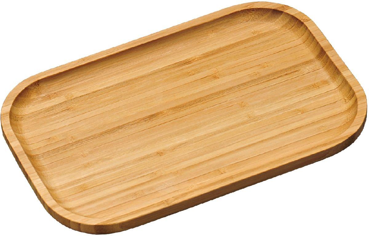 Доска разделочная Kesper, 30,5 х 20 см5816-0Доска для сервировки Kesper сделана из бамбука. Она включает в себя две функции. С однойстороны, на ней можно разрезать необходимый продукт и сразу подать его на стол, с другой-можно использовать как поднос. Очень удобная и стильная вещь.Не рекомендуется мыть в посудомоечной машине.