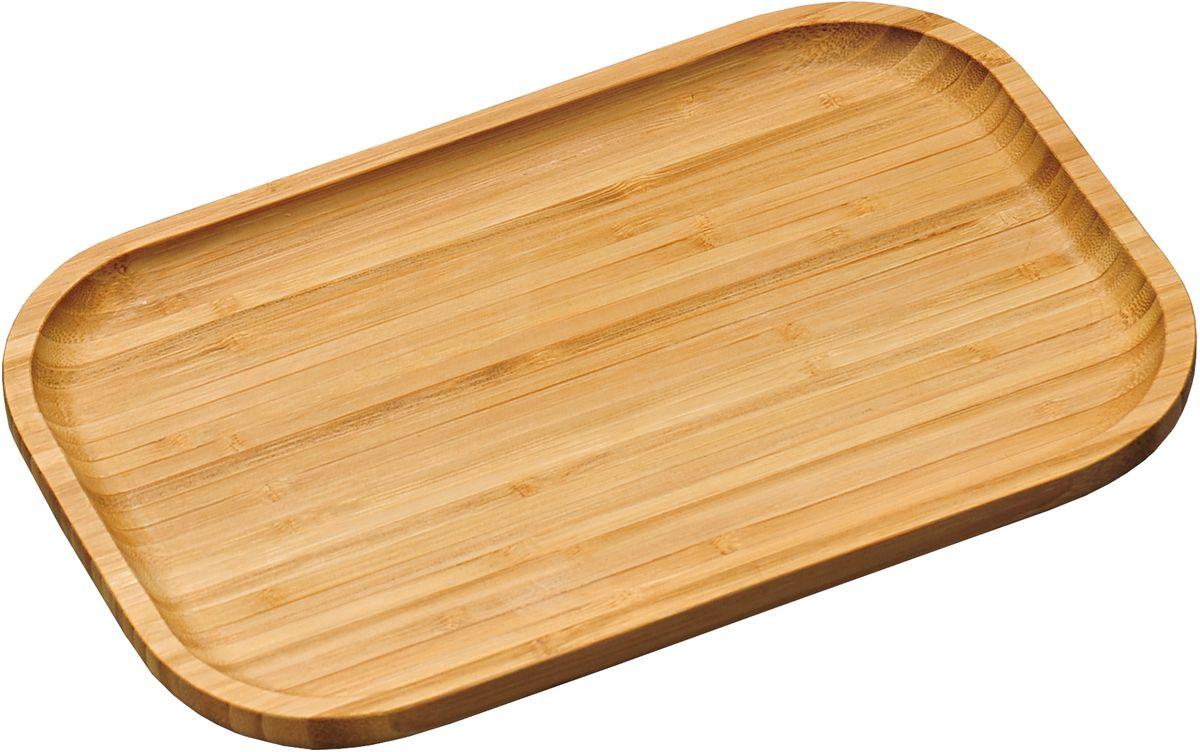 Доска разделочная Kesper, 37,5 х 27,5 см5816-1Доска для сервировки  Kesper сделана из бамбука. Она включает в себя две функции. С одной стороны на ней можно разрезать необходимый продукт и сразу подать его на стол, с другой- можно использовать как поднос. Очень удобная и стильная вещь. Не рекомендуется мыть в посудомоечной машине.