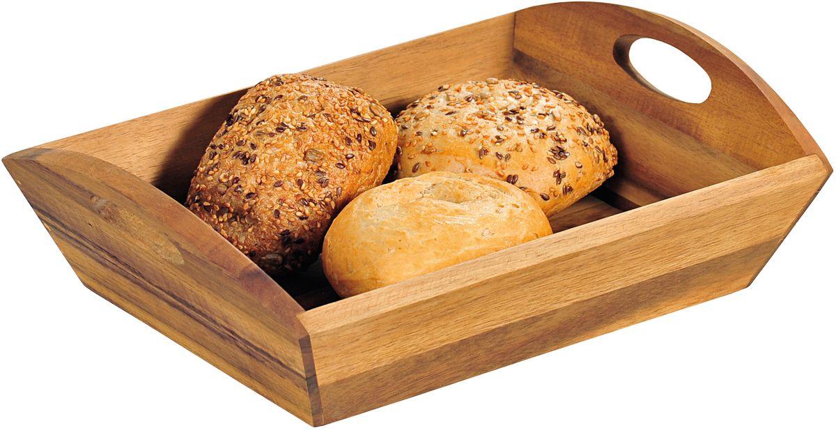 Хлебница Kesper, с ручками, 31,5 х 23 х 9 см6382-0Деревянная хлебница Kesper с высокими бортиками украсит ваш интерьер. Хлебница изготовлена из высококачественной древесины бука. Изделия изэтого дерева долговечные и, конечно, совместимые с пищевыми продуктами. Благодаря удобным ручкам емкость легко переносить.