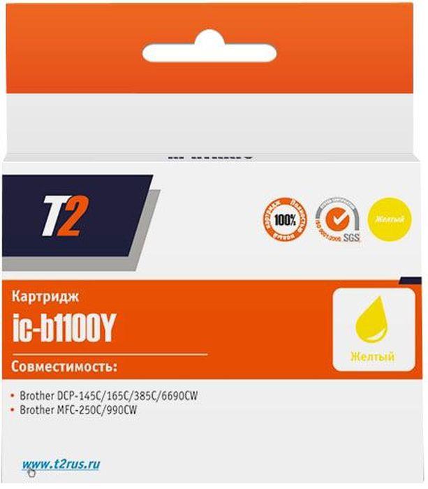 T2 IC-B1240Y, Yellow картридж для Brother DCP-J525/MFC-J430/J825/J5910/J6510/J6910
