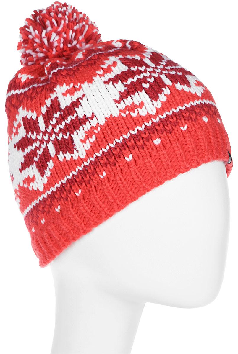 Шапка женская Icepeak, цвет: красный, розовый. 855848613IV-660. Размер универсальный855848613IV-660