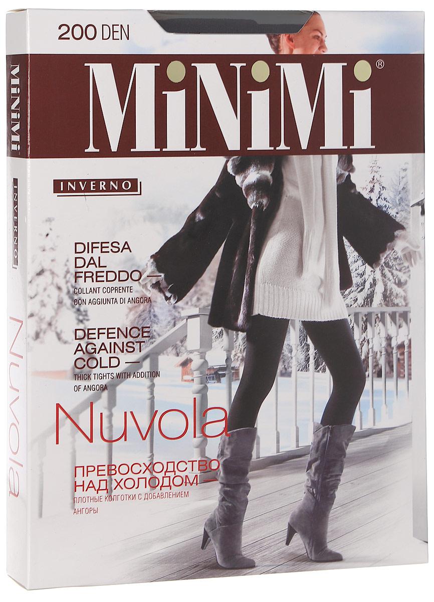 Колготки Minimi Nuvola 200, цвет: Moka (коричневый). SNL-231769. Размер 2 (40/42)Nuvola 200Колготки Minimi Nuvola - превосходство над холодом! Плотные колготки 200 Den с добавлением ангоры.