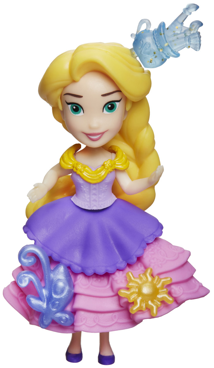 Disney Princess Мини-кукла Рапунцель кукла disney princess малышка рапунцель