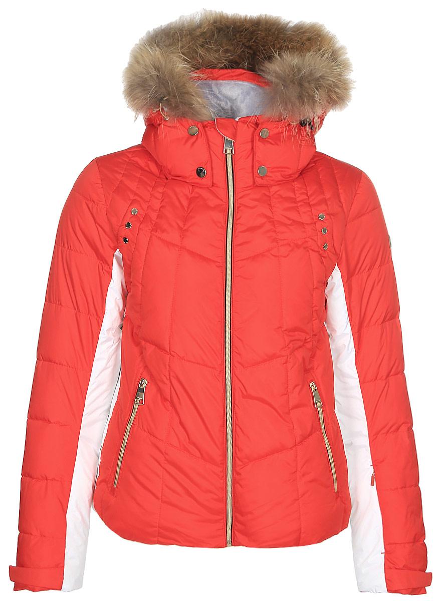 Куртка женская Luhta, цвет: красный. 838433372L8V_640. Размер 40 (48)838433372L8V_640