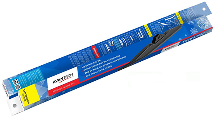 Щетка стеклоочистителя Avantech Snowguard, гибридная, под крючок, 16 (400 мм) щетка стеклоочистителя avantech snowguard для nissan juke 2010 22 550 мм