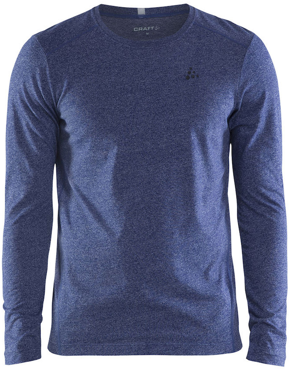 Лонгслив мужской Craft Deft 2.0, цвет: синий. 1905900/392000. Размер S (46)1905900/392000Практичная, мягкая и удобная рубашка с длинными рукавами для легких тренеровок. Класическая посадка.
