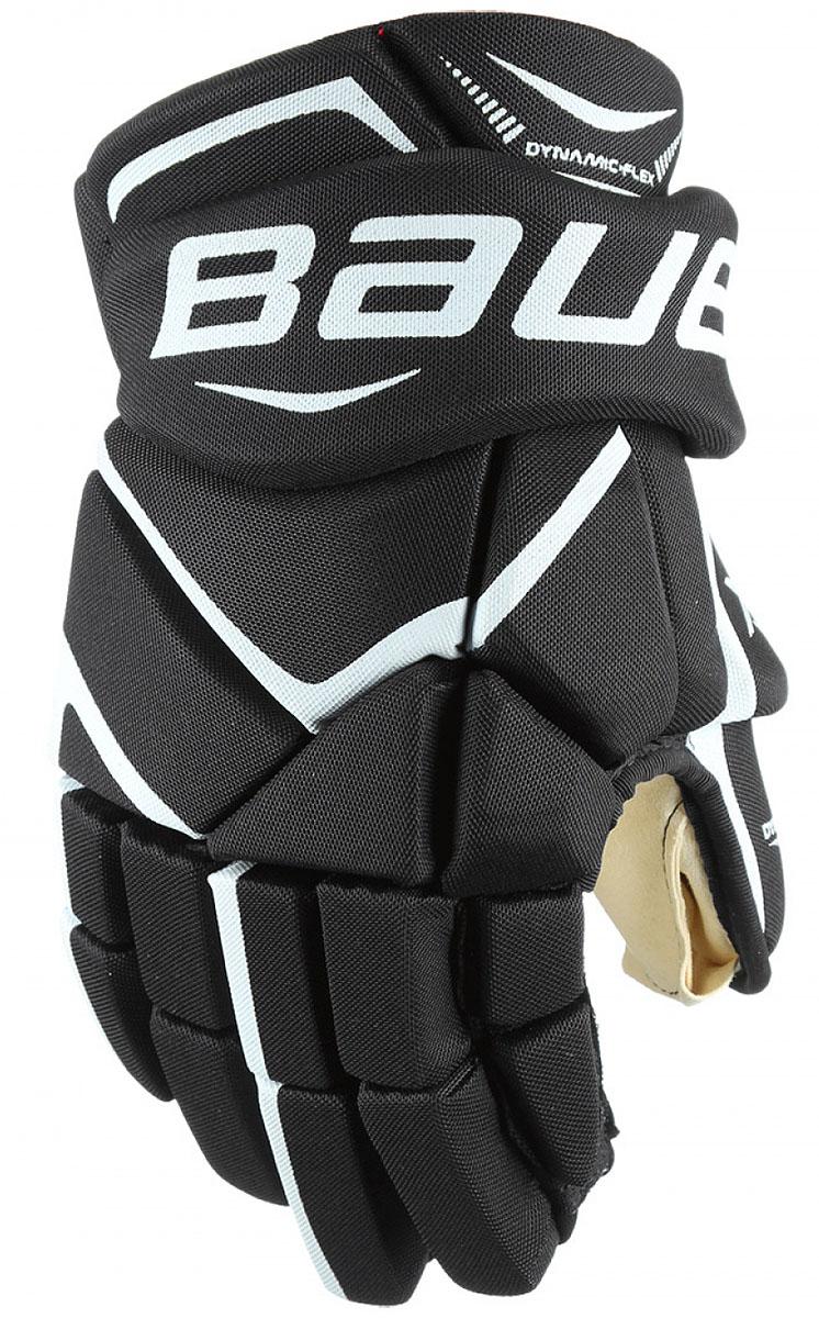 Перчатки хоккейные BAUER Vapor X700, цвет: черный, белый. 1048094. Размер 151048094