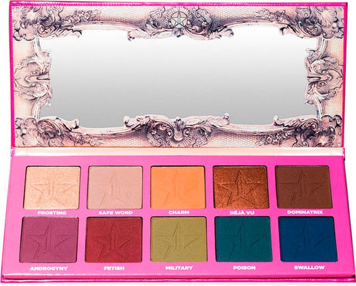 Палетка Jeffree Star Eyeshadow Palette Androgyny, 50 г тени jeffree star палетка теней androgyny