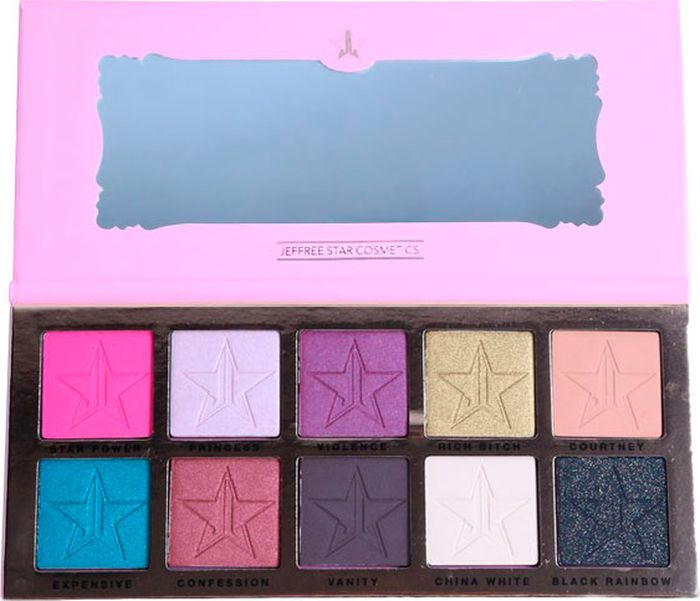 Палетка Jeffree Star Eyeshadow Palette Beauty Killer, 50 г тени jeffree star палетка теней androgyny