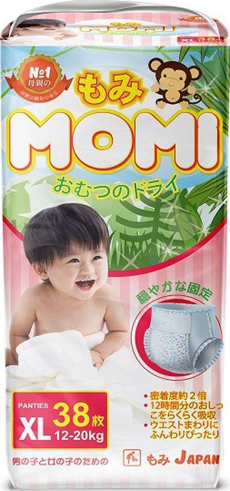 Momi Подгузники-трусикиXL12-20кг38шт