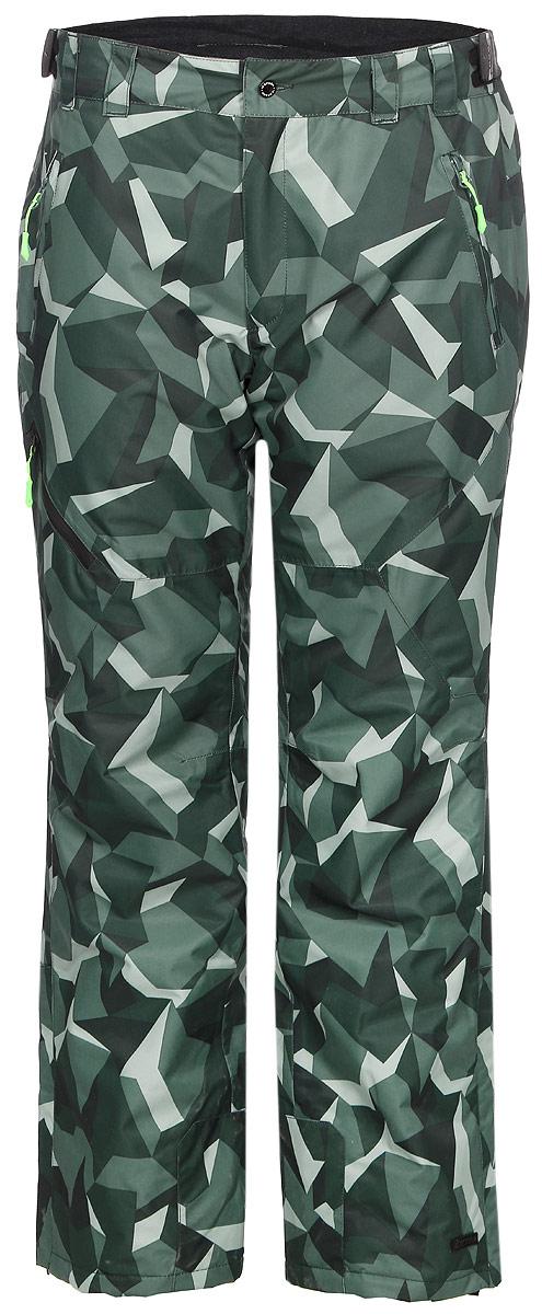 Брюки мужские Icepeak, цвет: темно-зеленый. 857090571IV_550. Размер 56 велосипед stinger genesis 3 3 29 2015