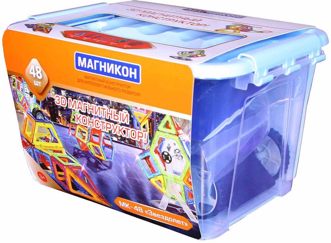 Магникон Магнитный конструктор MK-48 - Конструкторы