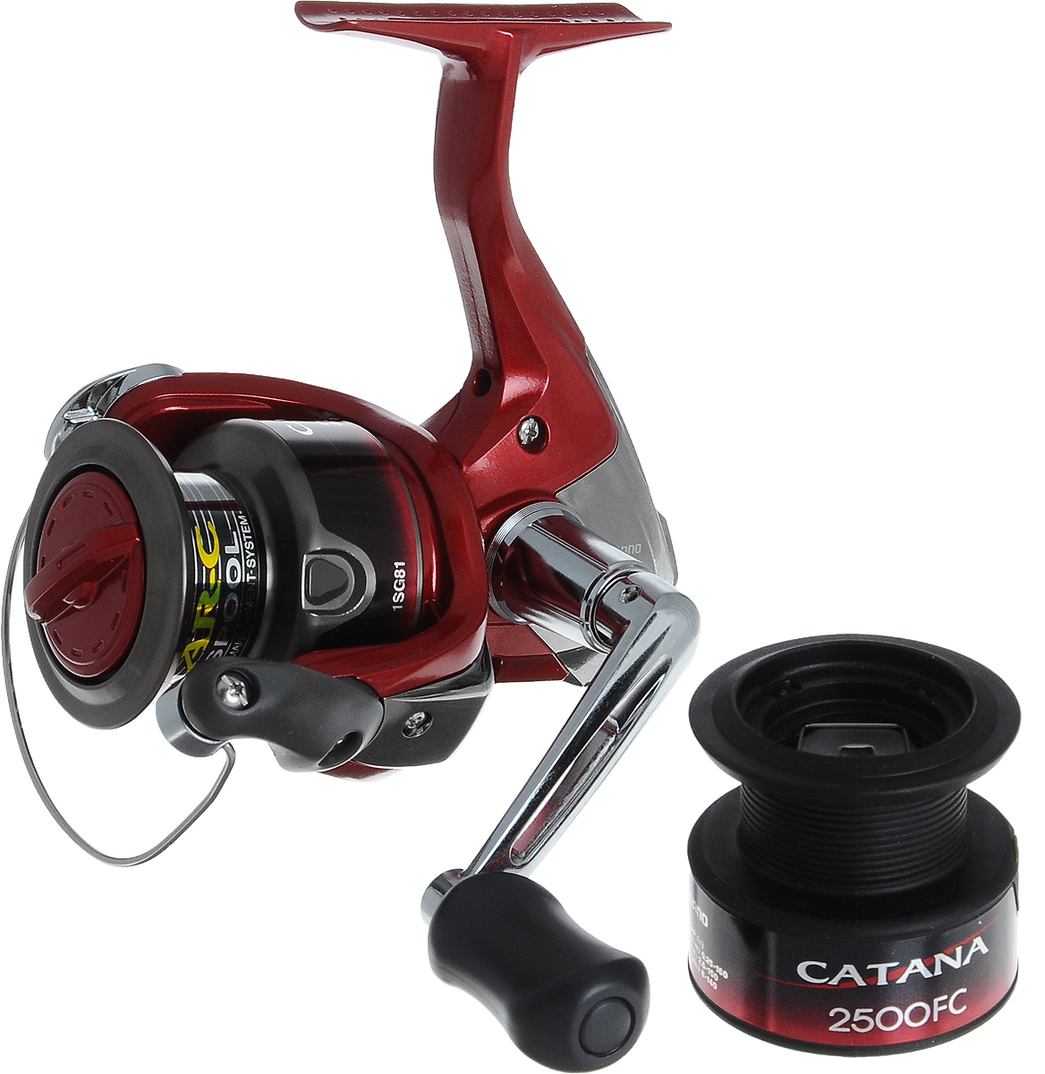 Катушка рыболовная Shimano Catana. CAT2500FC
