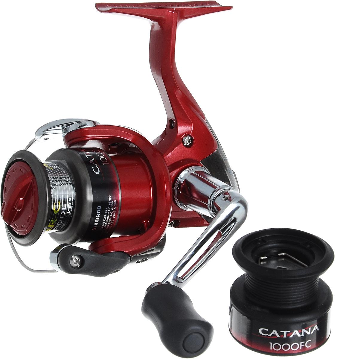 Катушка рыболовная Shimano Catana. CAT1000FC shimano catana 2500 fc