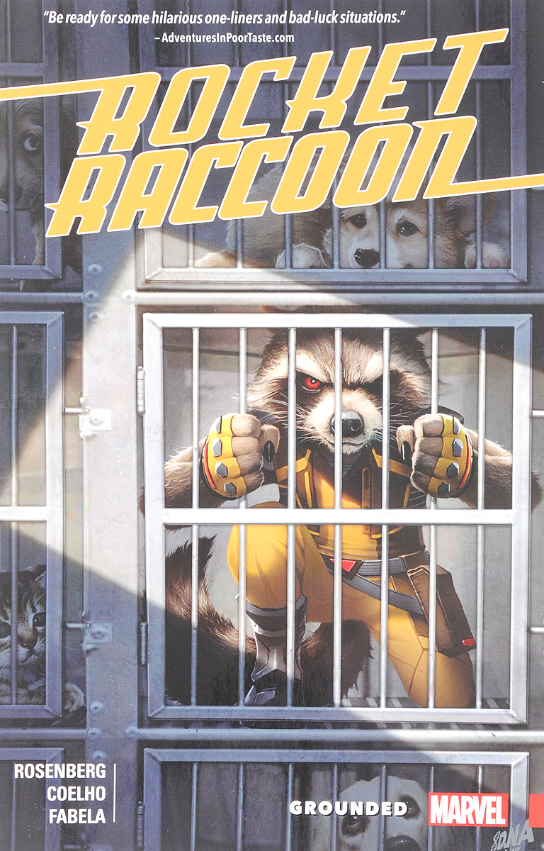 Rocket Raccoon: Grounde what is this thing called language
