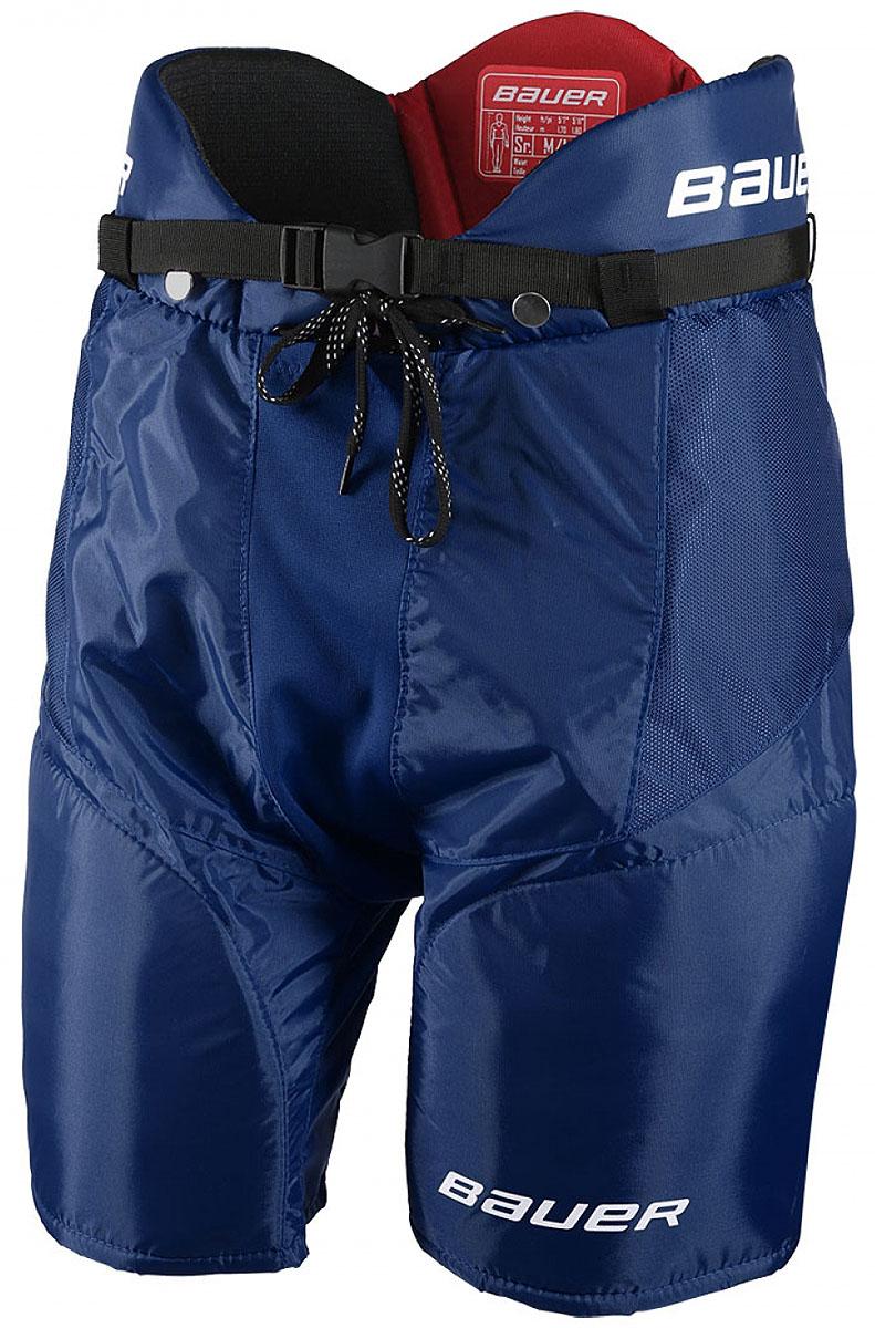 Трусы хоккейные BAUER Vapor X700, цвет: синий. 1048102. Размер XL