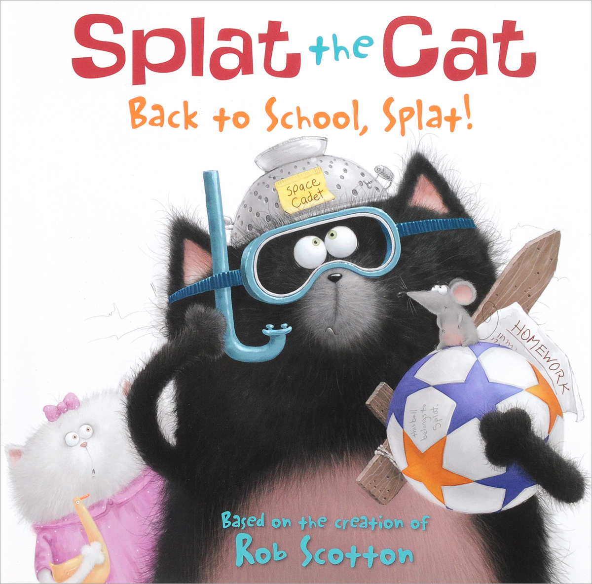Splat the Cat: Back to School, Splat! one day at a time