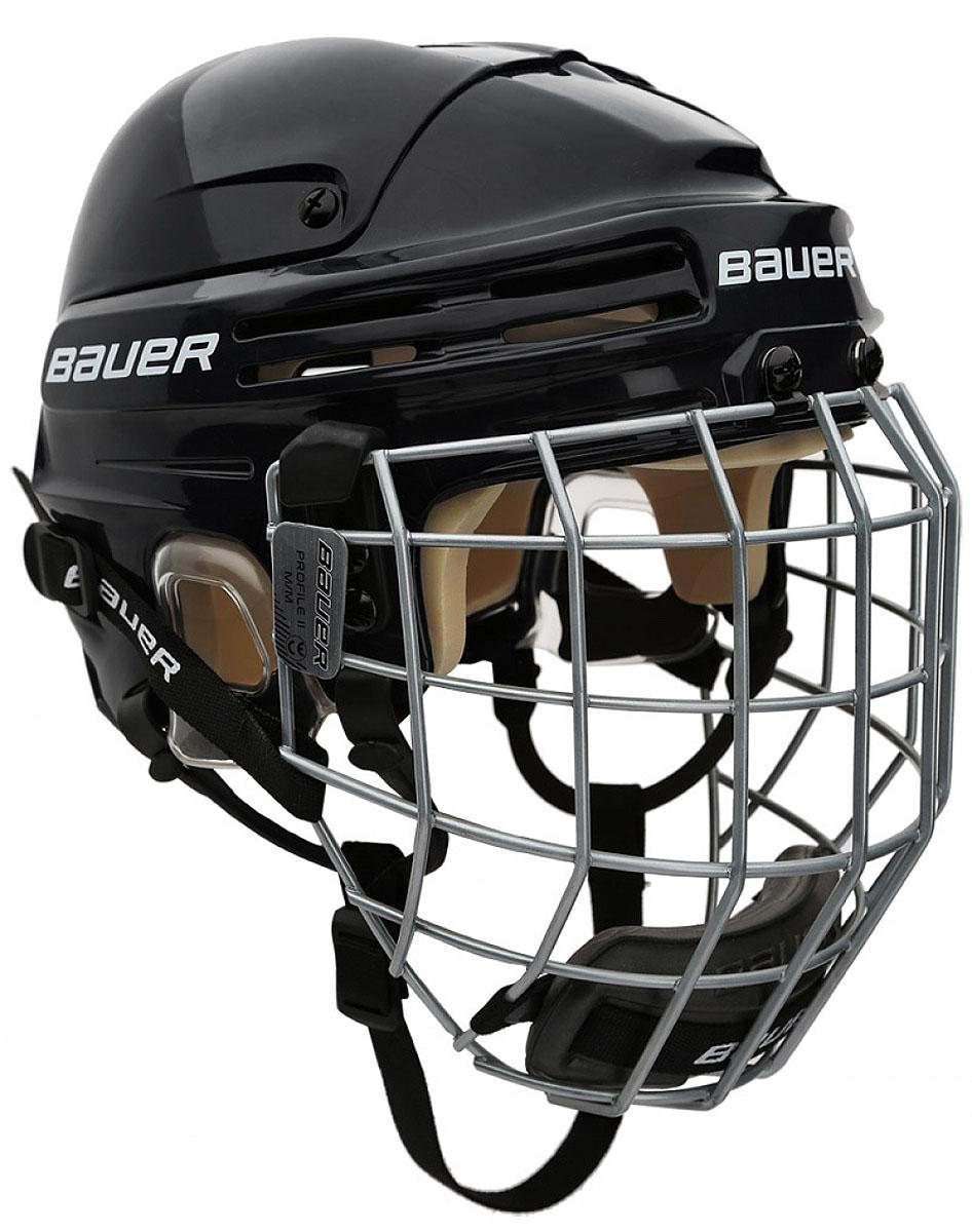 Шлем Bauer  2100 Combo , цвет: черный. 1036882. Размер S - Ледовые коньки, хоккей