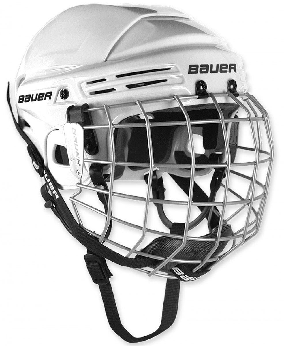 Шлем Bauer  2100 , цвет: белый. 1036881. Размер M - Хоккей
