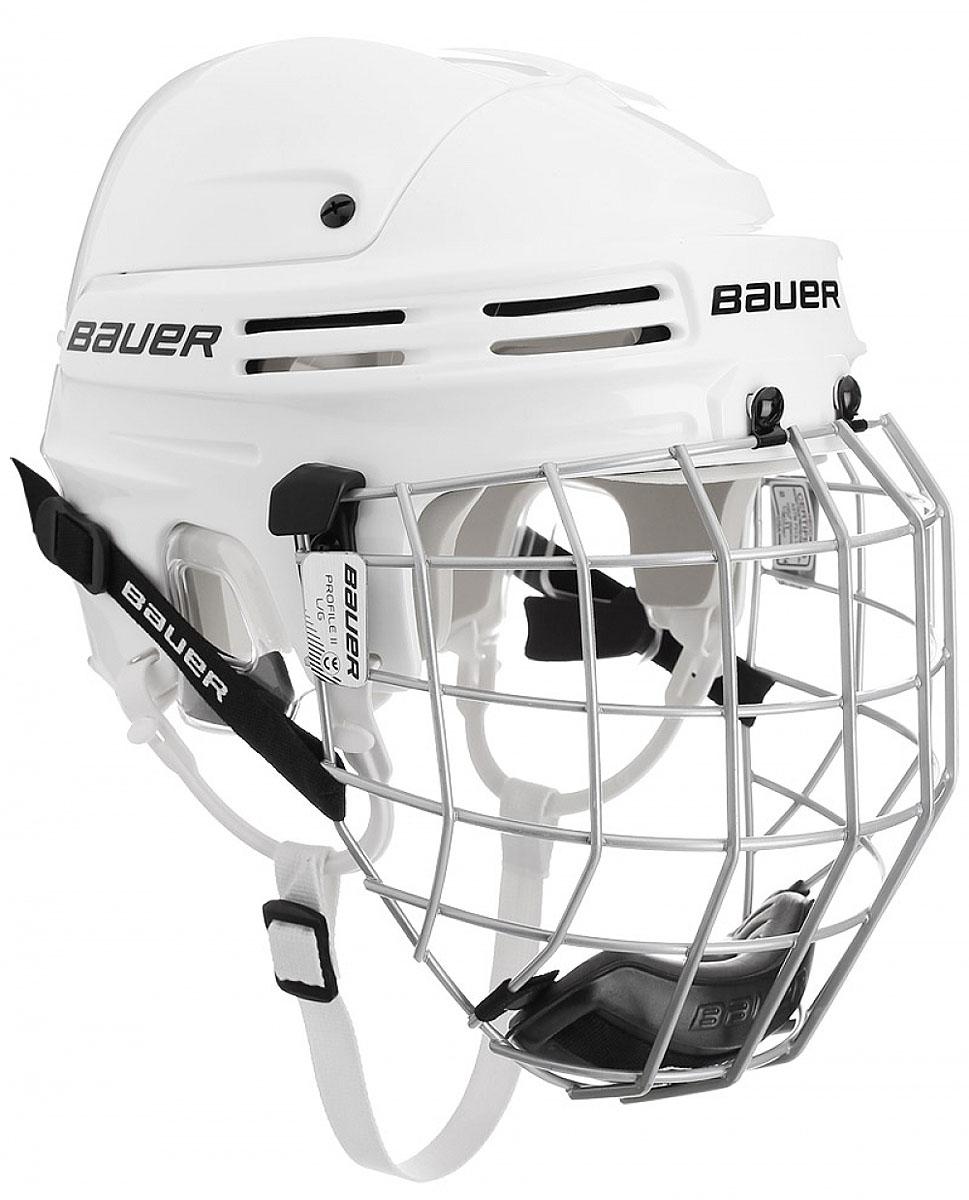 Шлем Bauer  4500 Combo , цвет: белый. 1044665. Размер M - Хоккей